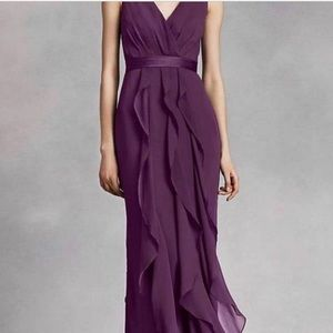 Vera Wang White bridesmaid / Prom dress
